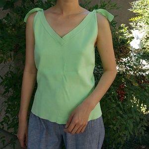 Ann Taylor Loft Green Tank Size M